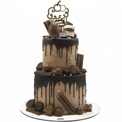 کیک تولد نوتلا