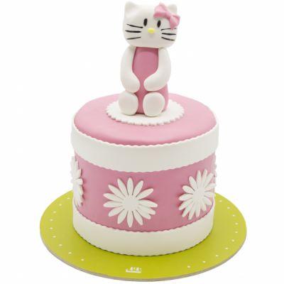 کیک تولد دخترانه کیتی خجالتی