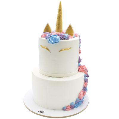 کیک تولد دخترانه اسب تک شاخ 3