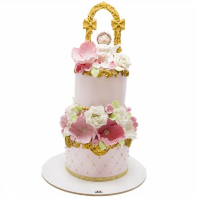 کیک تولد دخترانه  فرشته 5