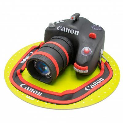 کیک تولد دوربین عکاسی