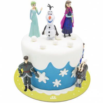 کیک تولد فروزن