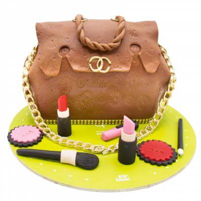 کیک تولد دخترانه کیف لویی ویلتون