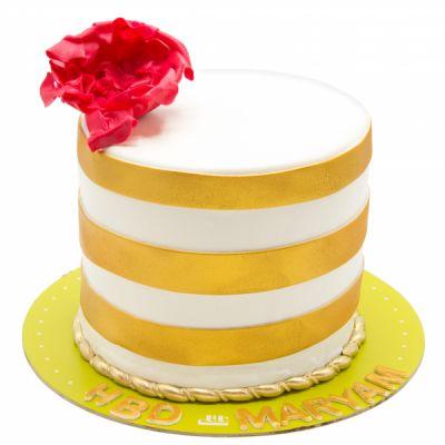 کیک تولد لیلا