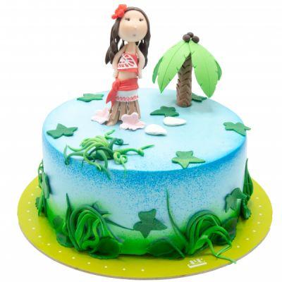 کیک تولد عروس جزیره