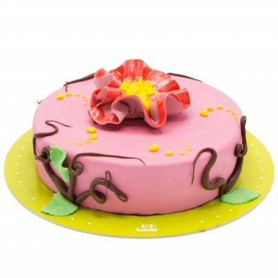 کیک تولد دخترانه گل آرزو