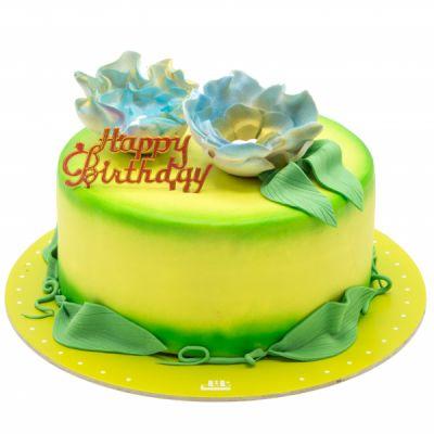 کیک تولد دخترانه رویا