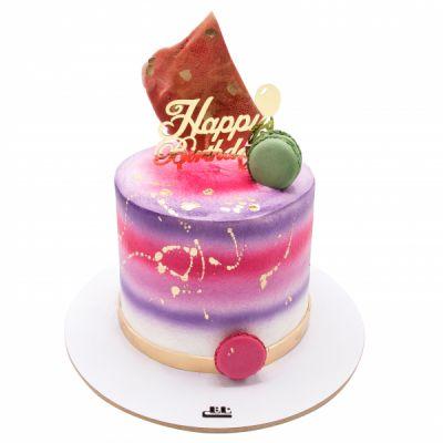 کیک تولد دخترانه نگار