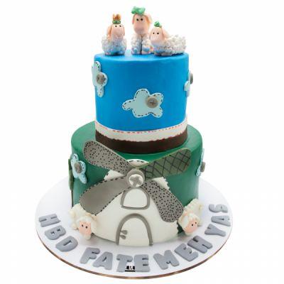 کیک تولد مزرعه حیوانات