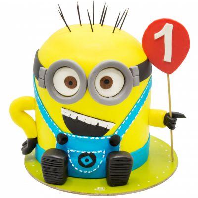 کیک تولد مینیون یکساله