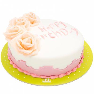 کیک تولد دخترانه رزا