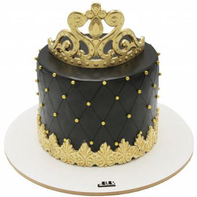 کیک تولد دخترانه تاج زربانو 2