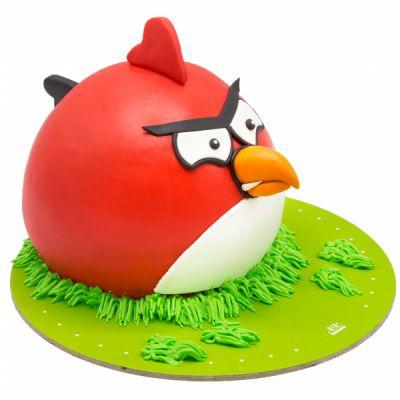 کیک انگری بردز قرمز