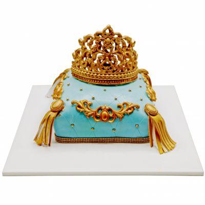 کیک تولد تاج شاهزاده