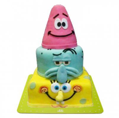 کیک سفارشی تولد BB39