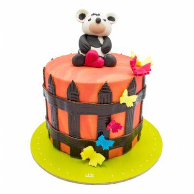 کیک خرس عاشق