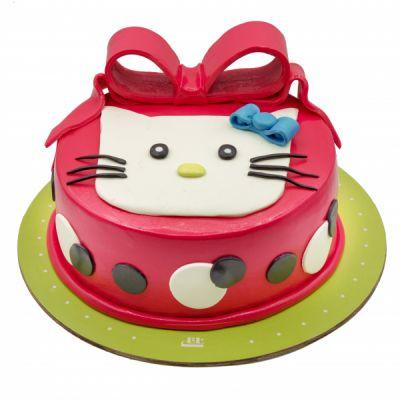 کیک تولد دخترانه کیتی 4