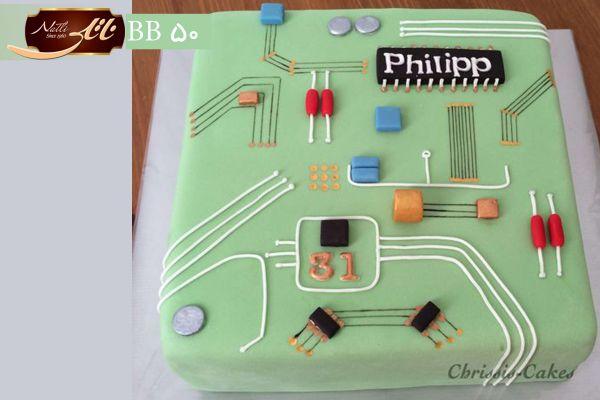 کیک سفارشی تولد BB50