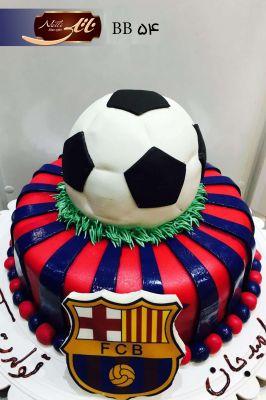 کیک سفارشی تولد BB54