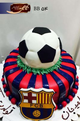 کیک تولد پسرانه بارسلونا 4
