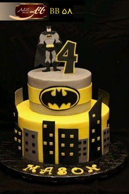 کیک تولد پسرانه بتمن 1