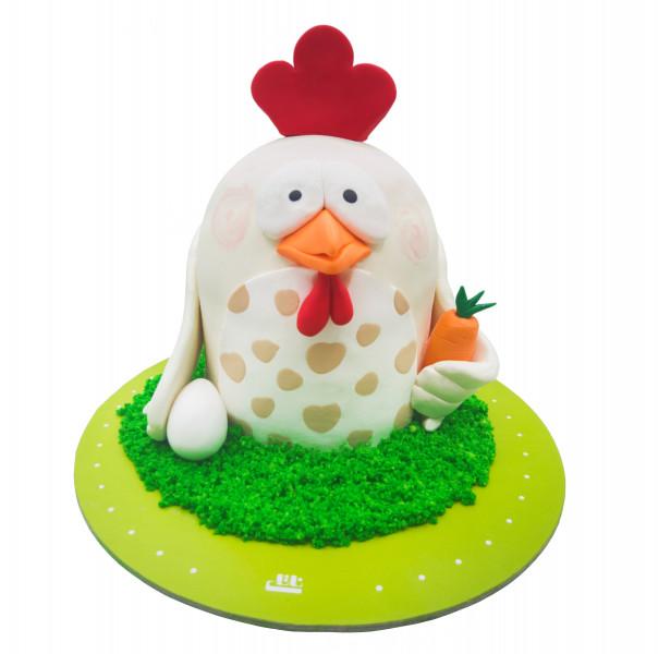 کیک تولد خروس کوچولو