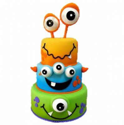 کیک سفارشی تولد BB68