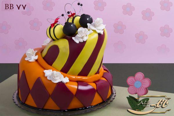 کیک تولد زنبور عسل 1