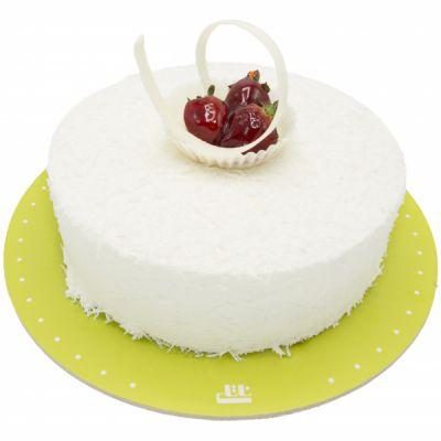 کیک خامه ای نارگیلی دلسا