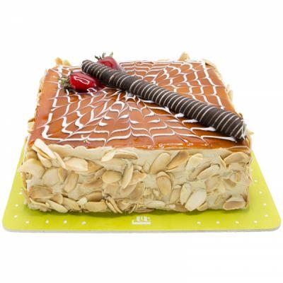 کیک نسکافه کارامل 2