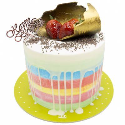 کیک هفت رنگ