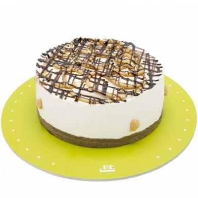 کیک لاکچری بادام زمینی