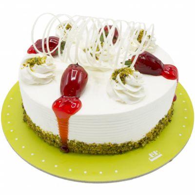 کیک وانیلی ساده