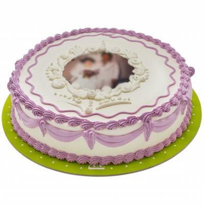 فتو کیک خامه ای