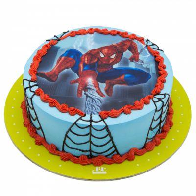 کیک مرد عنکبوتی