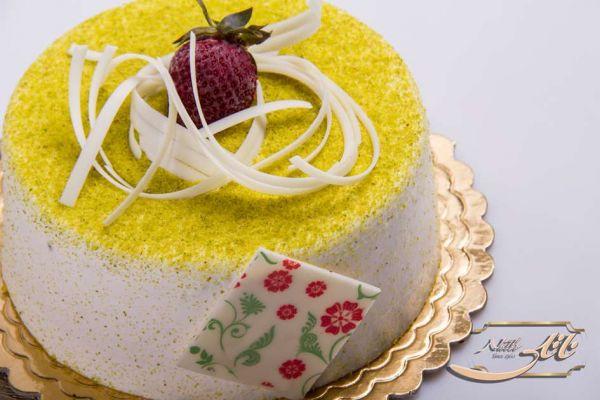 کیک بستنی نعنایی