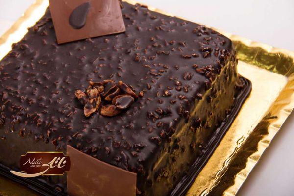 کیک بستنی شکلاتی 2