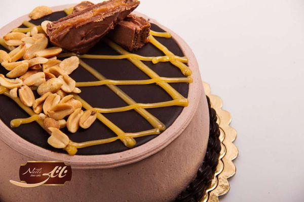 کیک بستنی شکلاتی 3