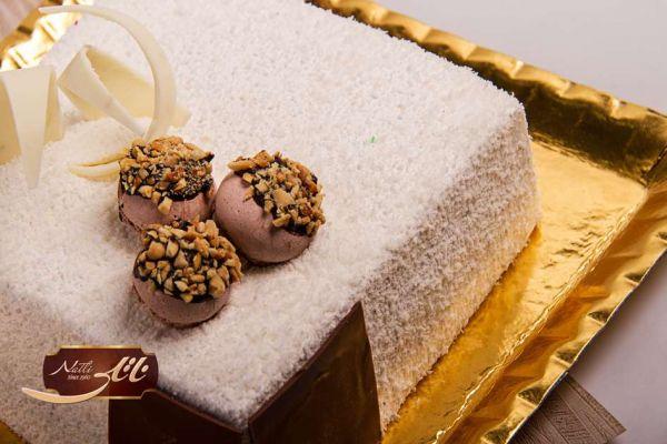 کیک بستنی وانیل IC26