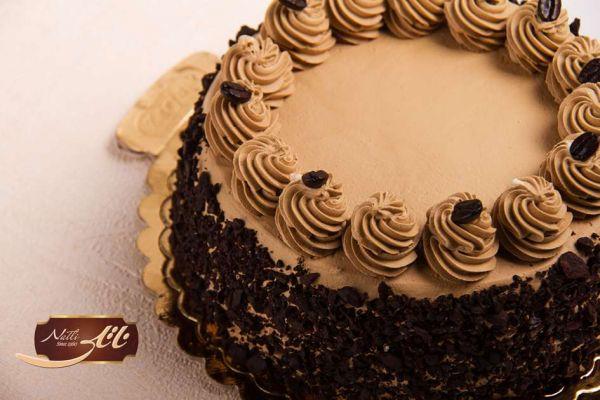 کیک بستنی قهوه 3