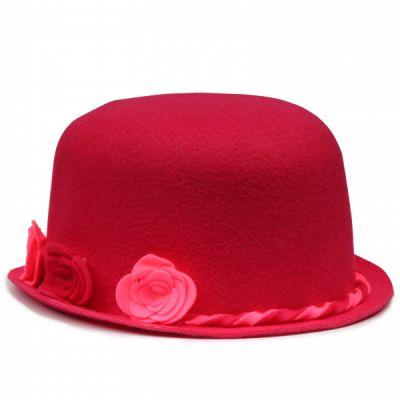 کلاه تولد نمدی دخترانه گلدار