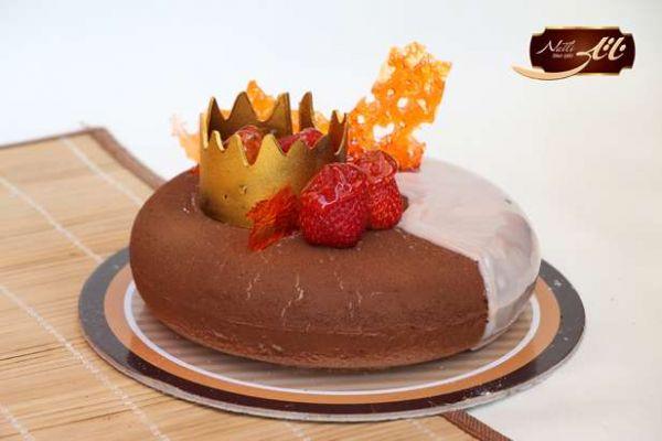 کیک های سفارشی لاکچری LC19