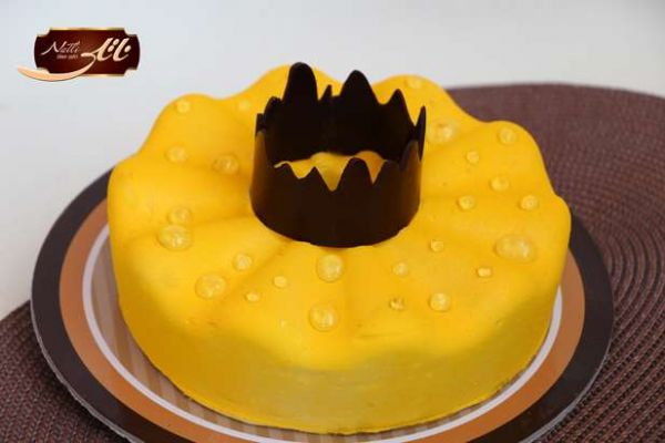 کیک های سفارشی لاکچری LC21