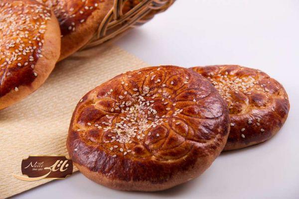 نان شیرمال ساده و خرمایی MR11
