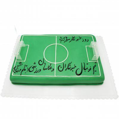 کیک زمین فوتبال