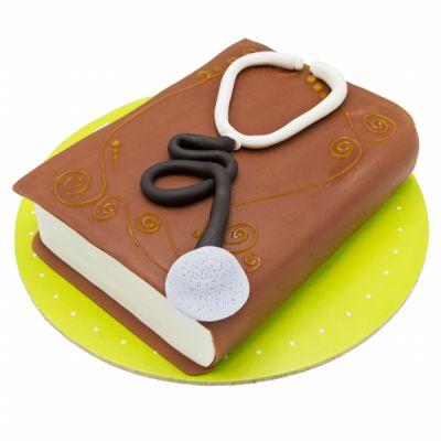 کیک کتاب پزشکی