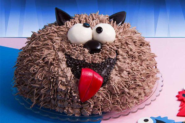 کیک تولد پسرانه گرگ ناقلا