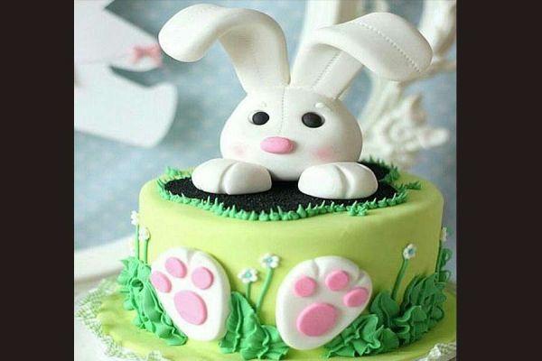 کیک تولد فوندانت TF02