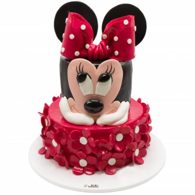 کیک تولد دخترانه میکی موس 6