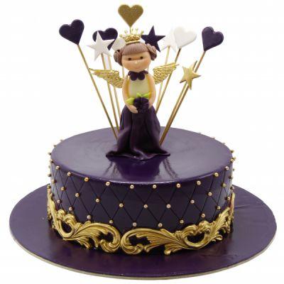 کیک تولد فوندانت TF16